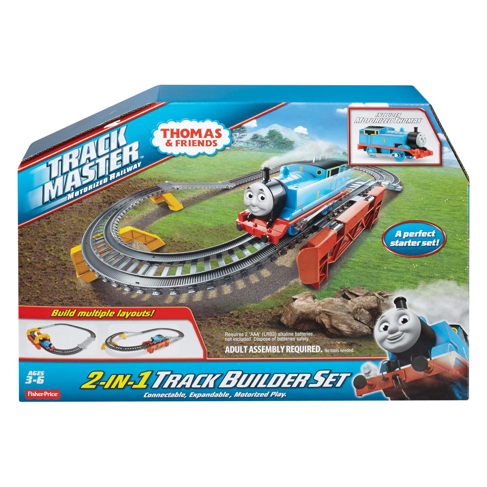 Thomas & Friends TrackMaster 2in1 Track Builder Set