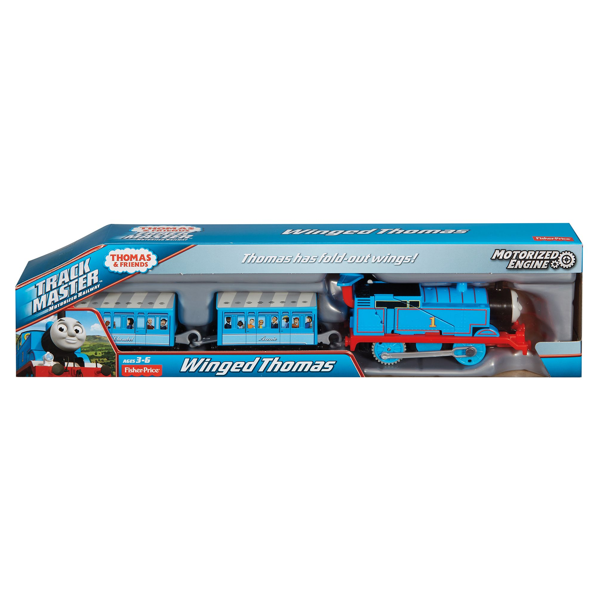 Image of Thomas & Friends Trackmaster Thomas With Wings
