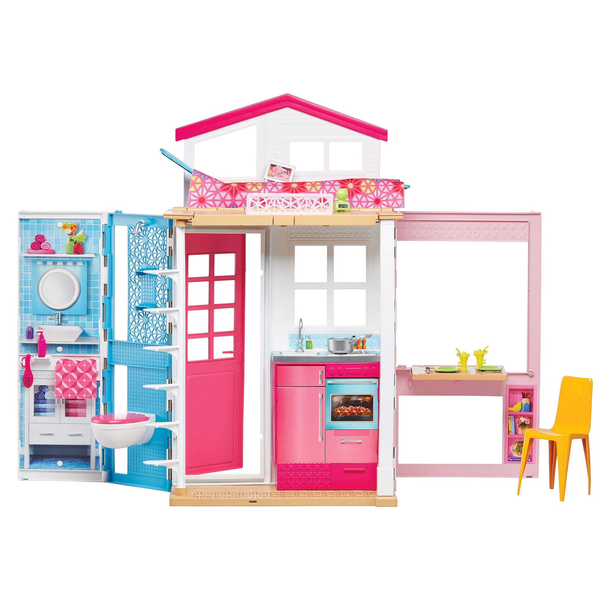 Barbie 2Story House & Doll