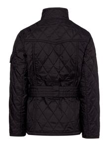 Barbour Girls international quilted funnel jacket