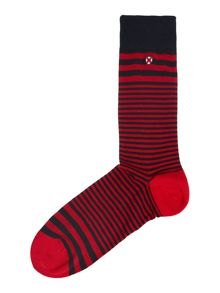 Glen Stripe Sock