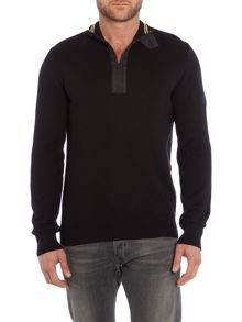 Barbour Throttled Half Zip Jumper