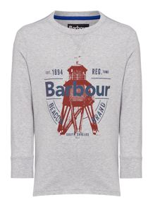 Barbour Boys Lighthouse Graphic T-shirt