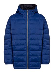 Boys Baffle Hooded Jacket