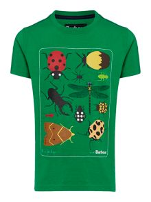 Barbour Boys Bug Print T-shirt