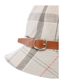 Barbour Tartan trench bucket hat