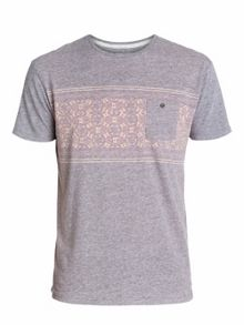 Pattern Crew Neck Slim Fit T-Shirt