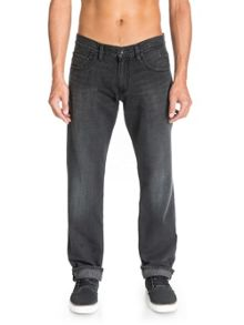 Rinse Wash Mid Rise Jeans