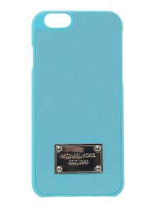 Blue saffiano Iphone 6 cover