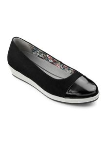 Hotter Angel dual fit slip on shoe