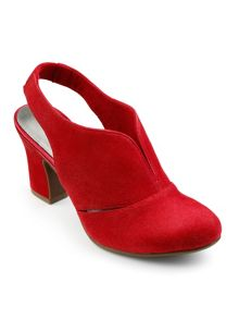 Hotter Ladies slingback heel shoe