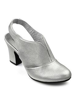 Ladies slingback heel shoe