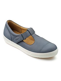 Lily casual t-bar shoes