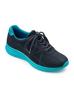Solar ladies lace up active trainers