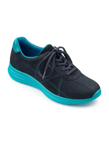 Hotter Solar ladies lace up active trainers