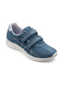Hotter Astrid double velcro active shoes