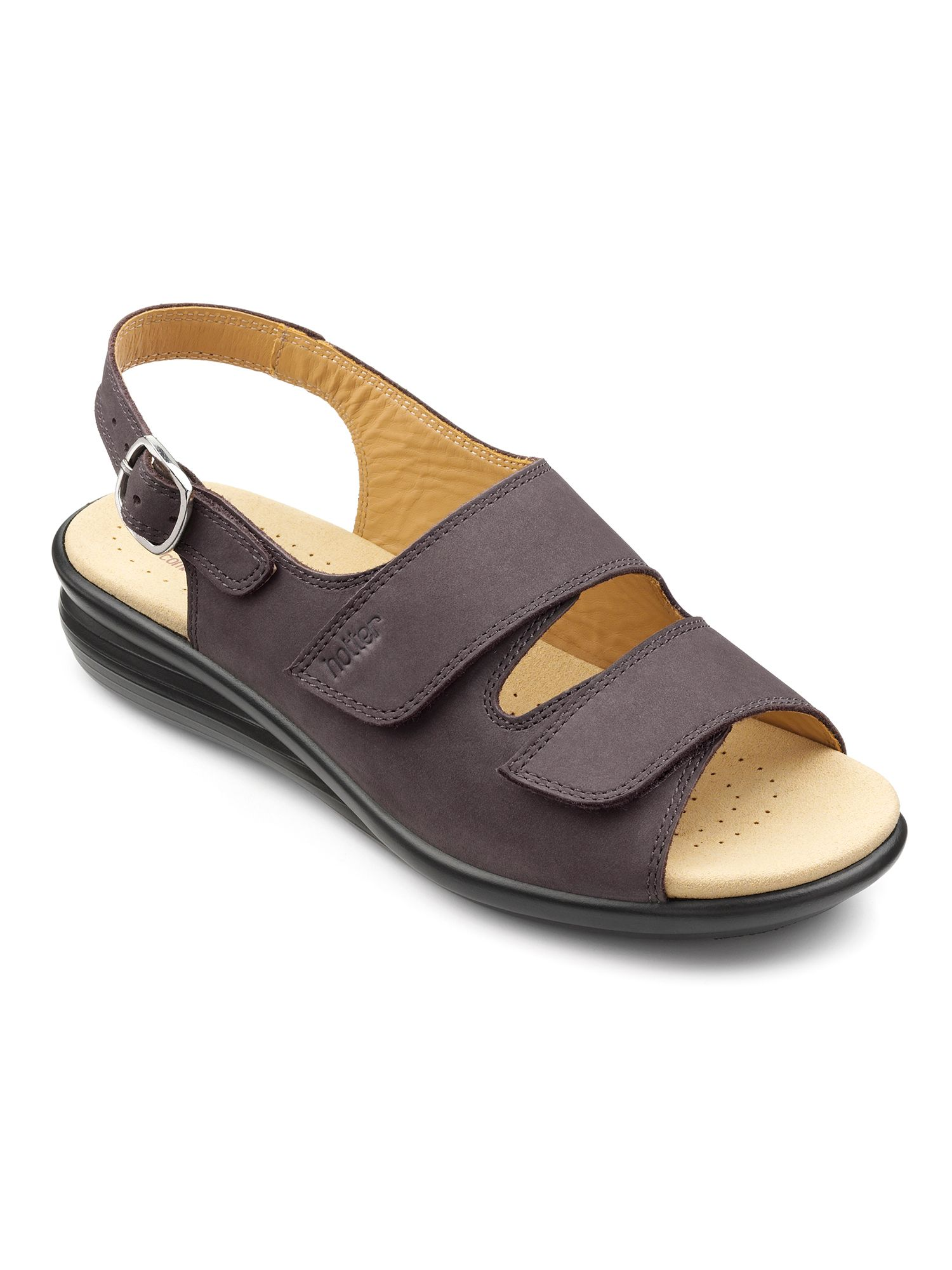 Hotter Easy original sandals, Silver