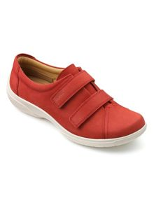 Hotter Leap touch close trainers