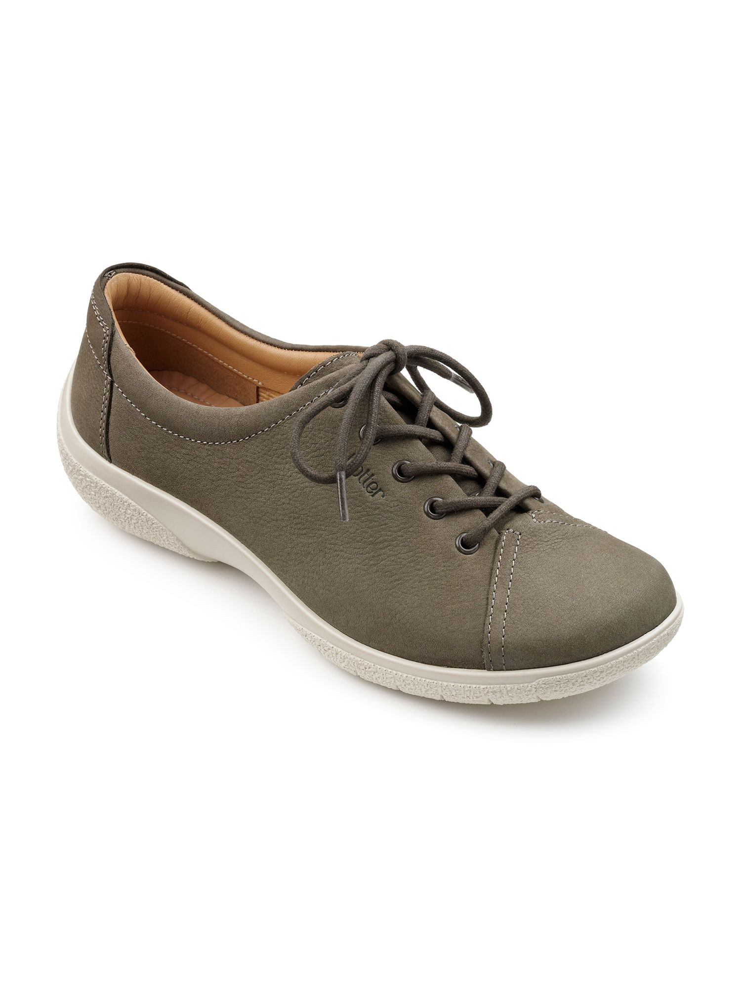 Hotter Dew original extra wide shoes, Brown
