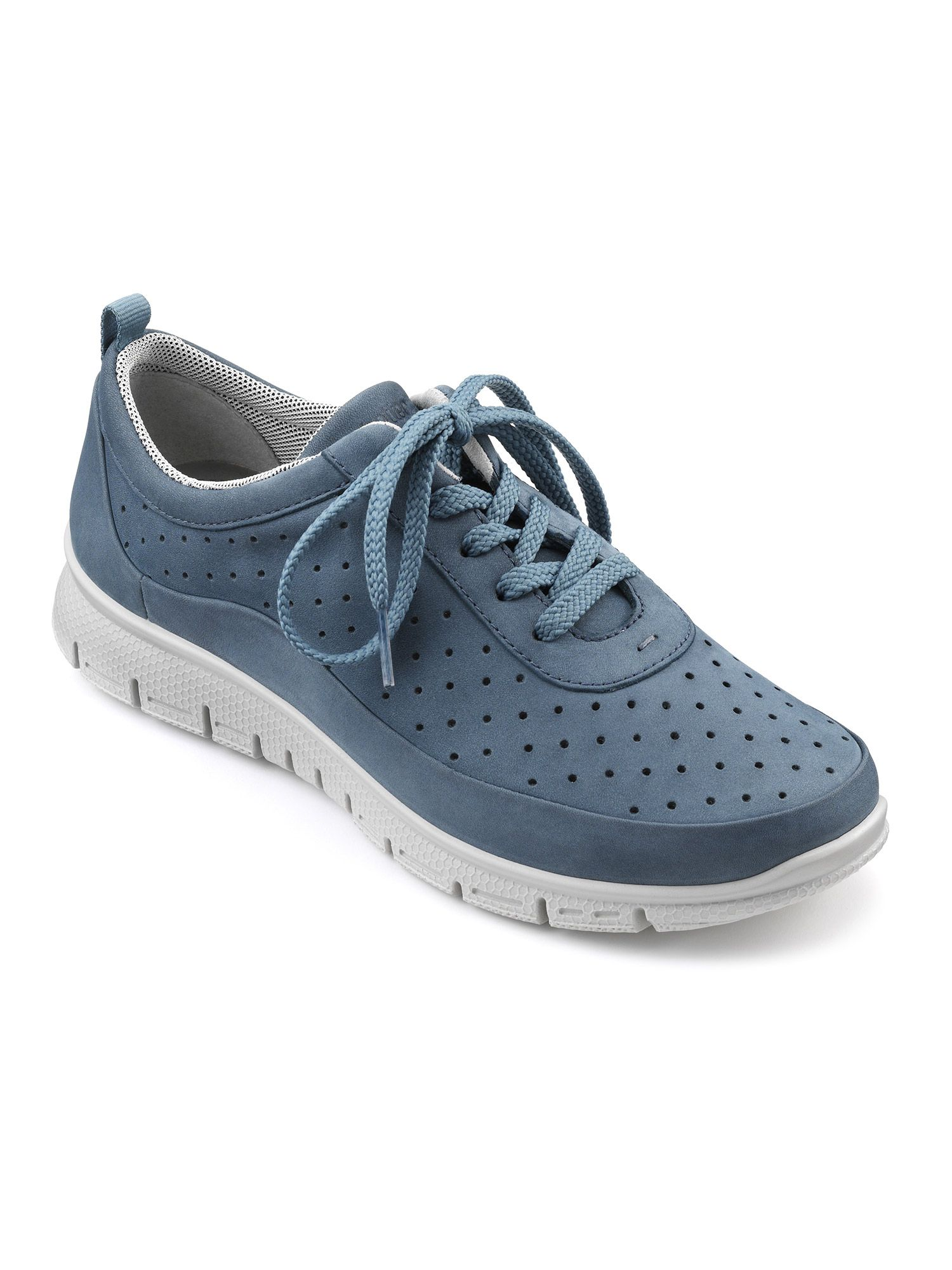 Hotter Gravity Ladies Active Shoe, Blue
