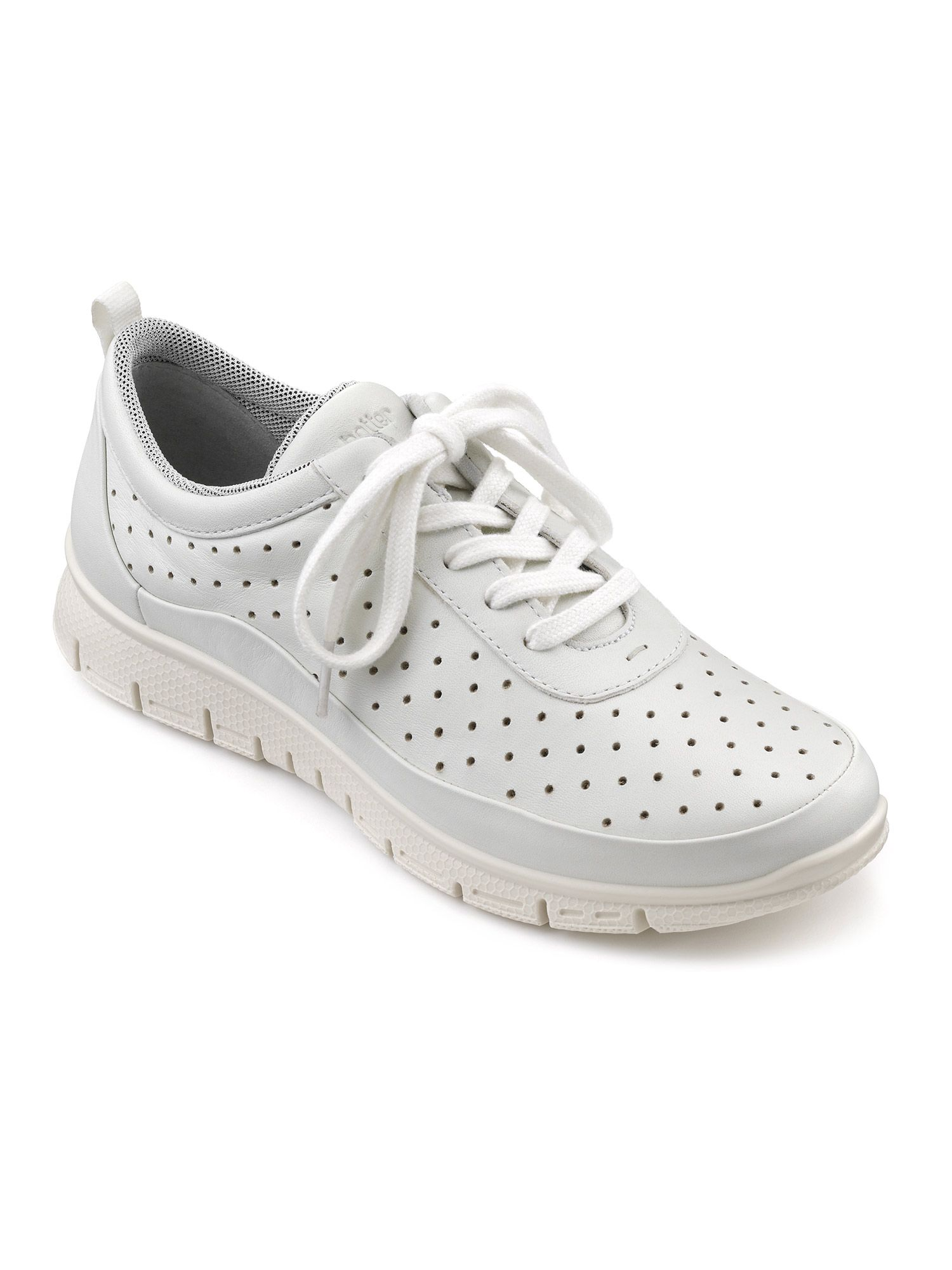 Hotter Gravity Ladies Active Shoe, White