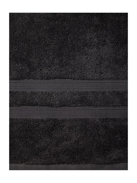 Luxury Hotel Collection Supima Cotton Bath Towel in Charcoal