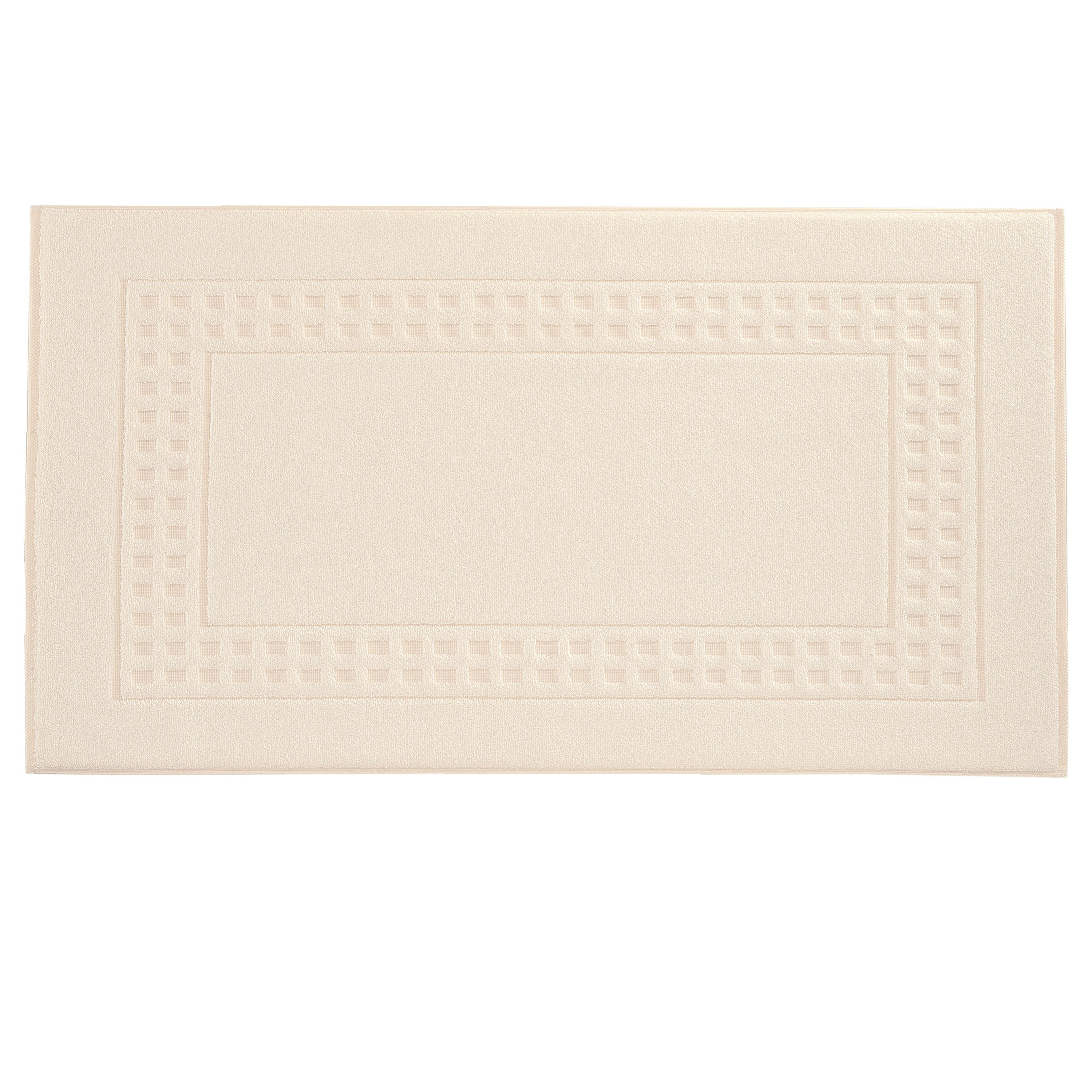 Country  bigger bath mat in ivory/cream