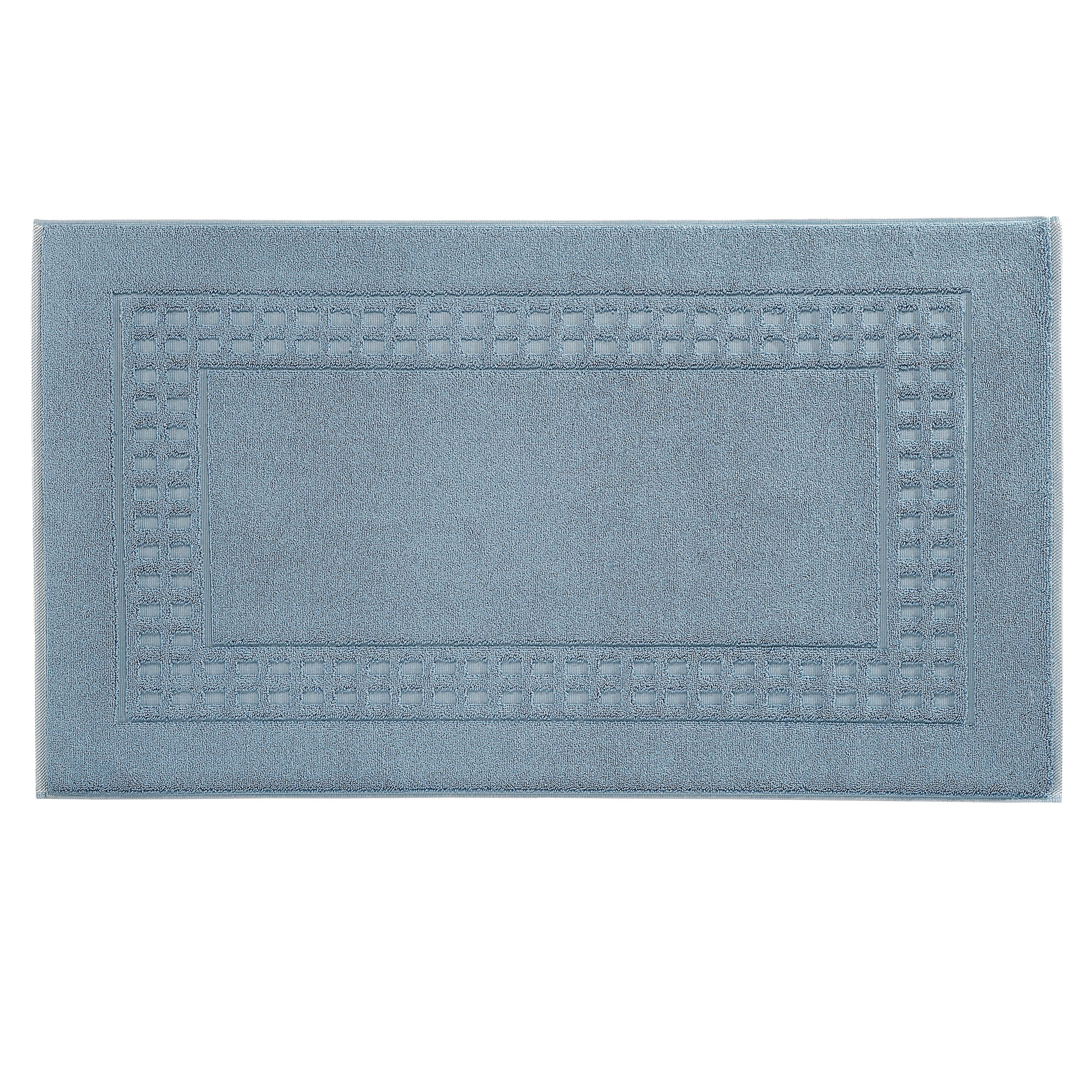 Country  bigger bath mat in dove/ivory