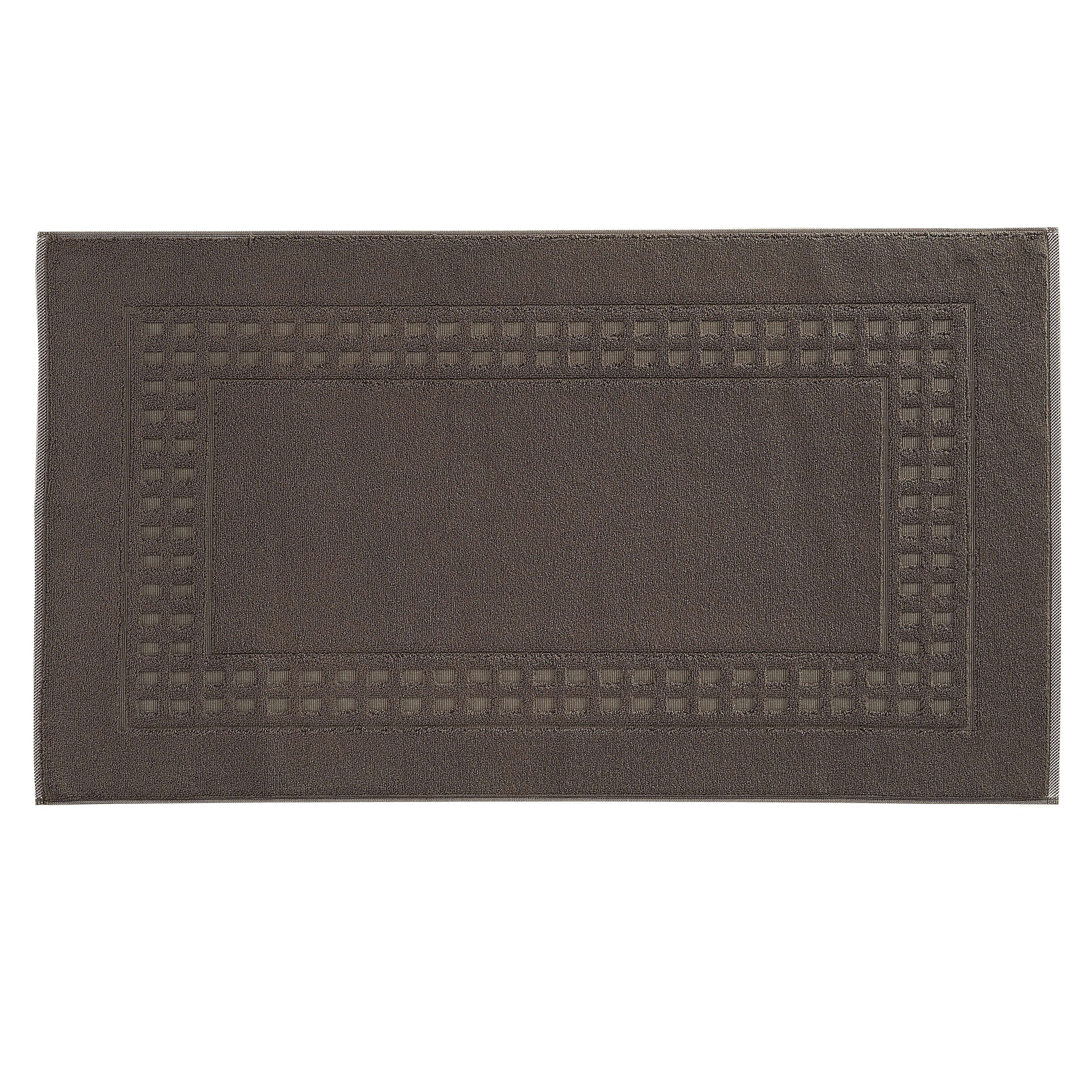 Country  bigger bath mat in mud green/ivory