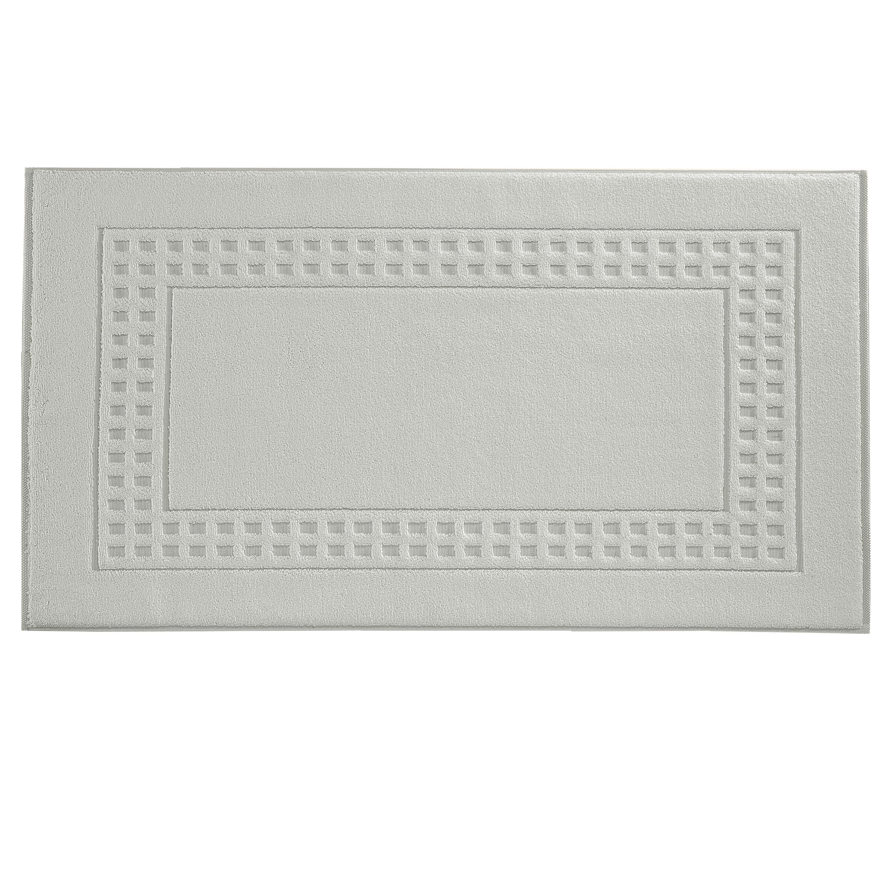 Country  bath mat in seashell/ivory