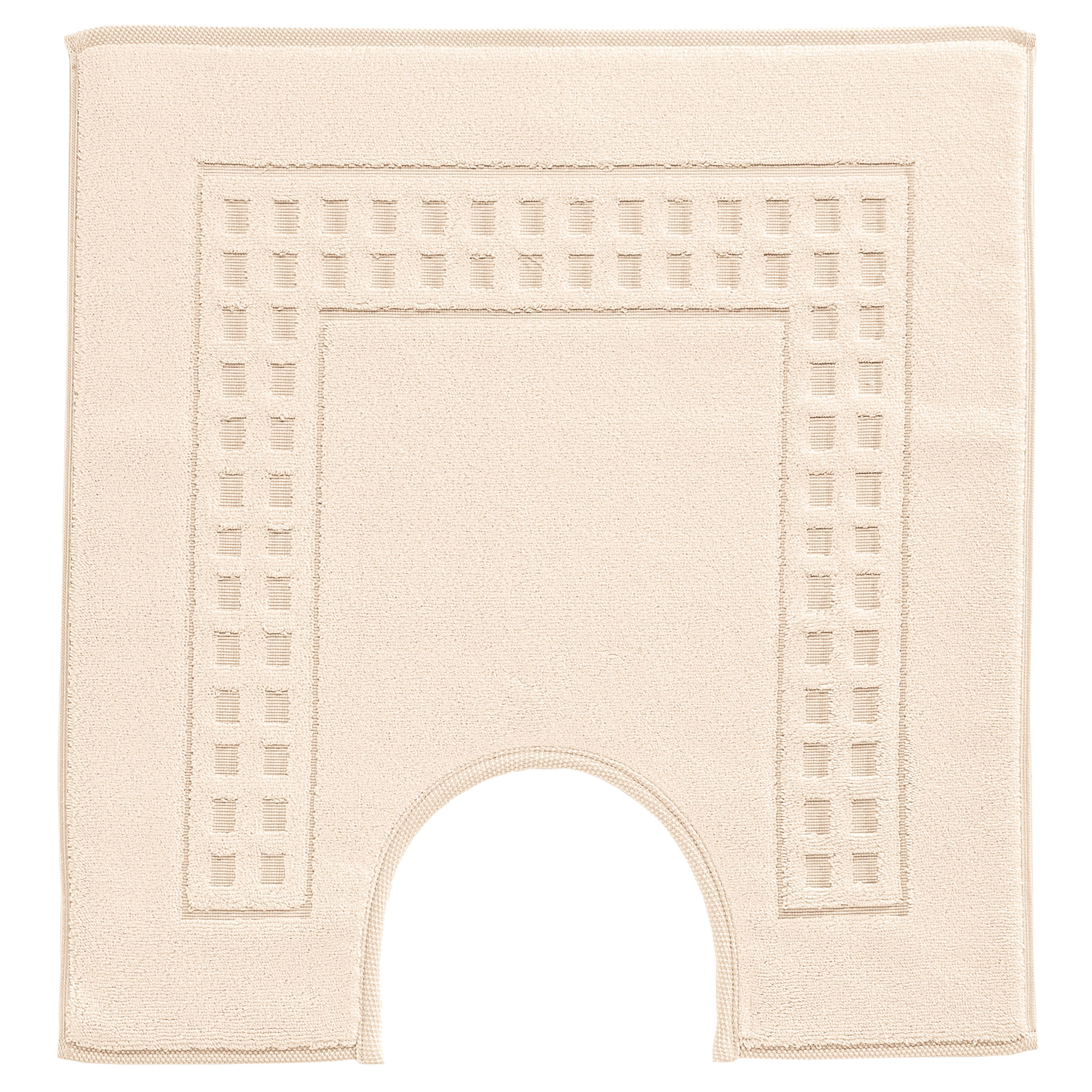 Country  ped mat in ivory/ivory