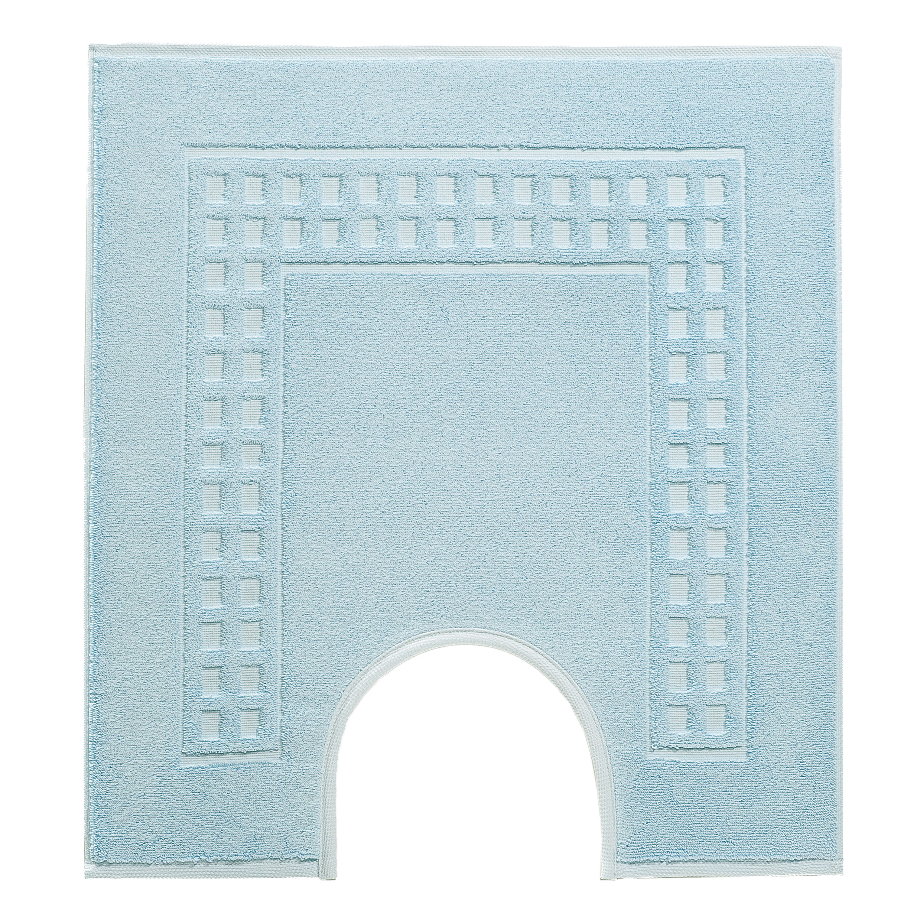 Country  ped mat in pale blue/ivory