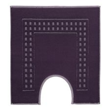 Country  ped mat in deep purple/ivory