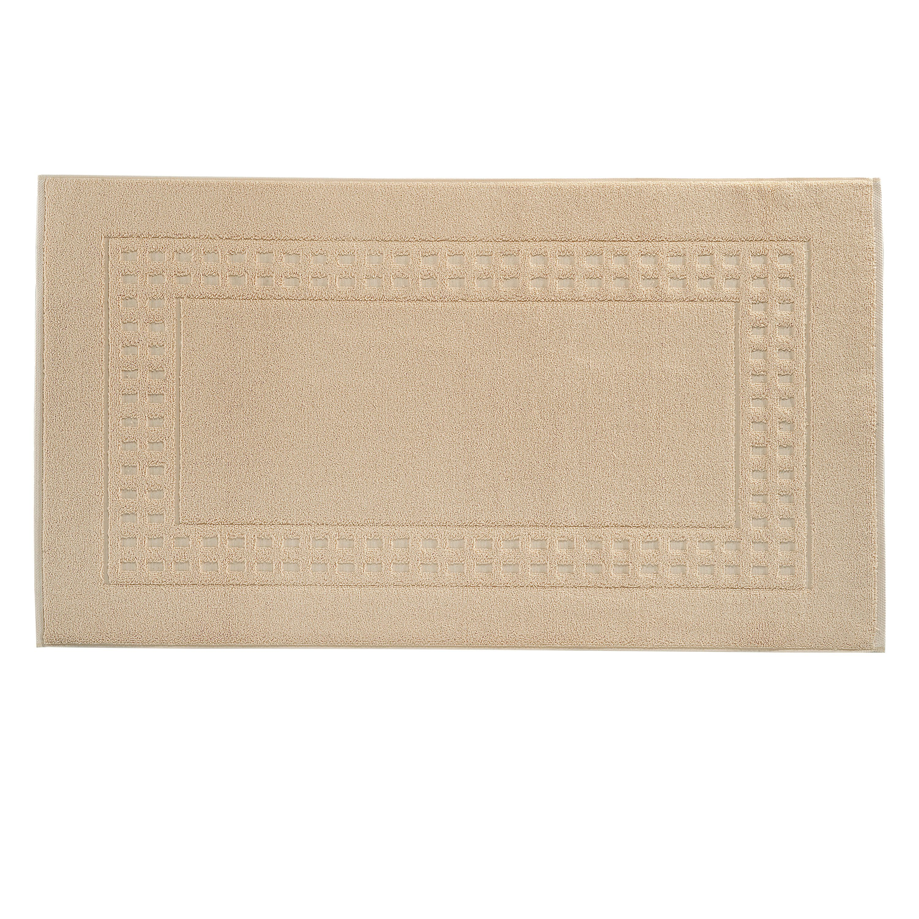 Country  bigger bath mat in düne/ivory