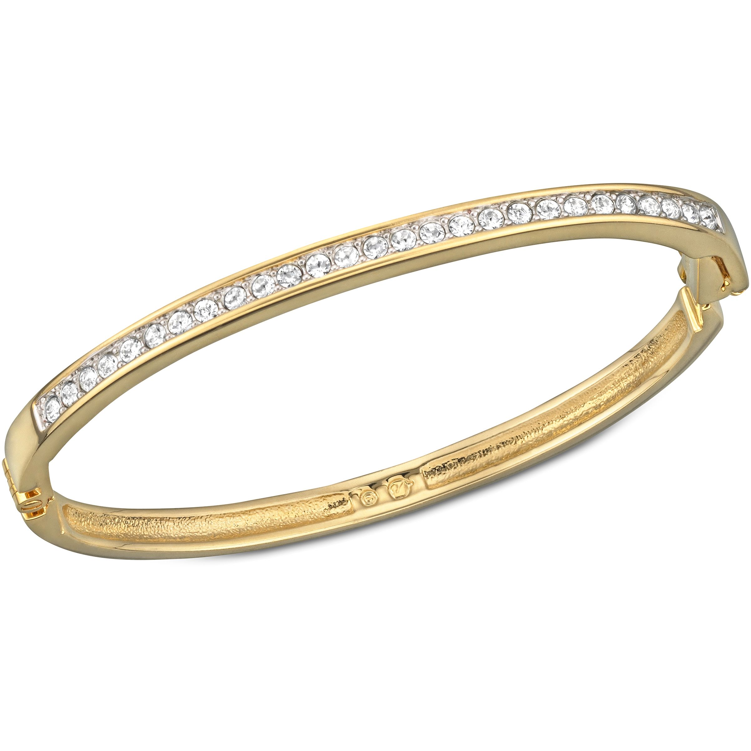 Channel-set bangle