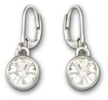 lolaandgrace Solitaire a drop earrings