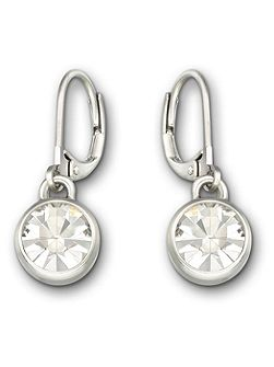 Solitaire a drop earrings