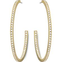 Vi hoop pierced earrings