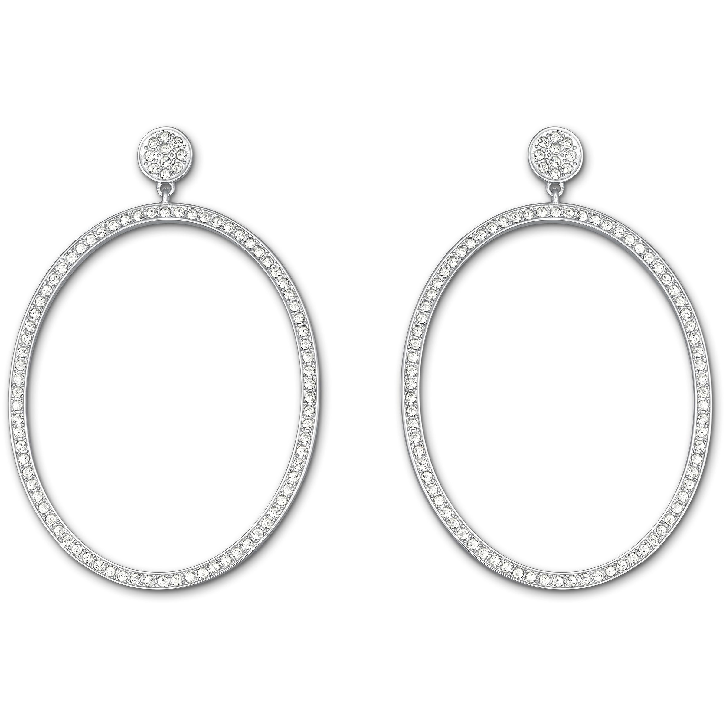 Vi oval pierced earrings