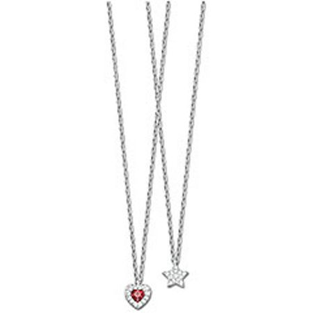 Swarovski Treasure heart star mini pendant