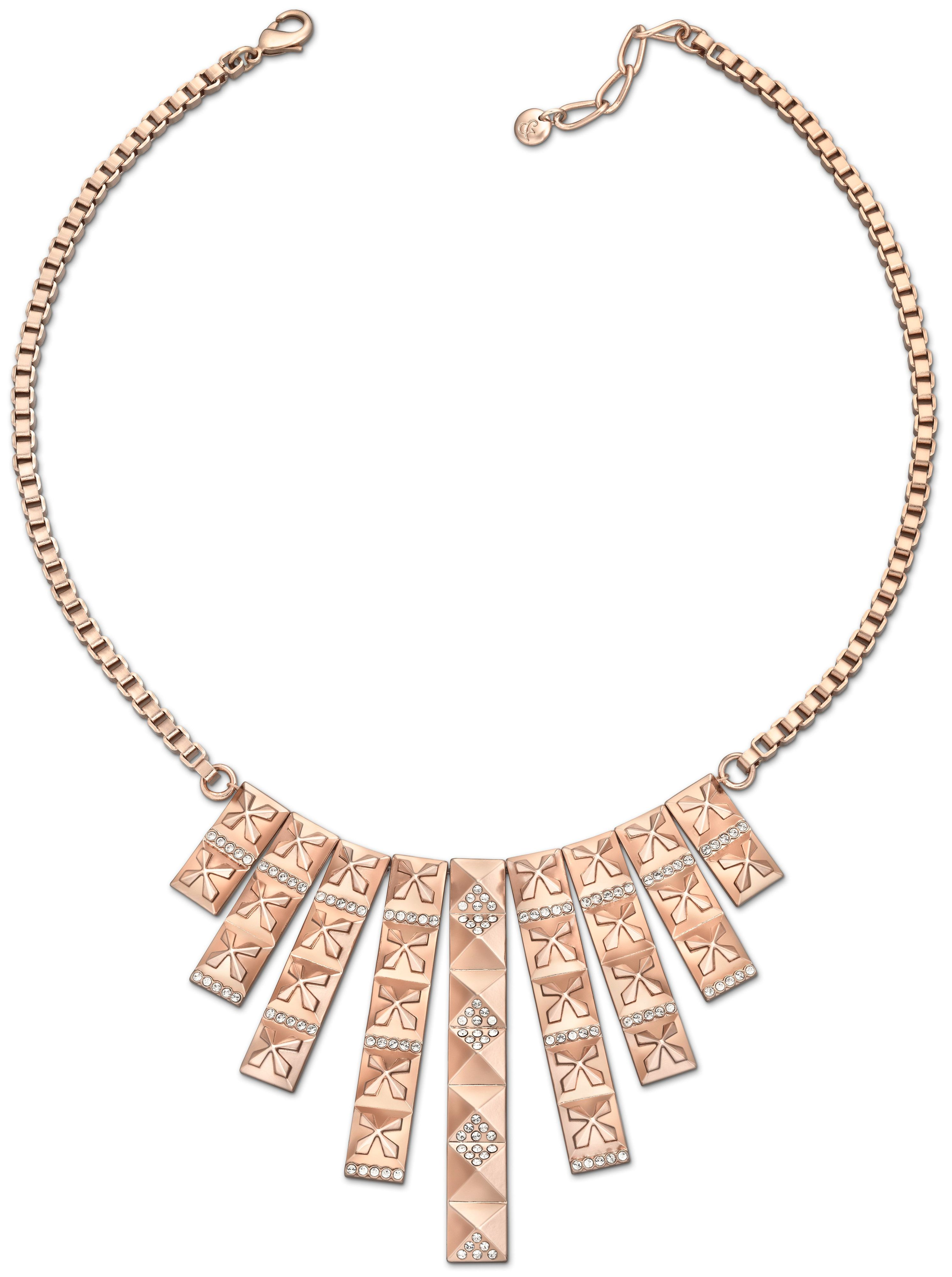 Stud bib necklace
