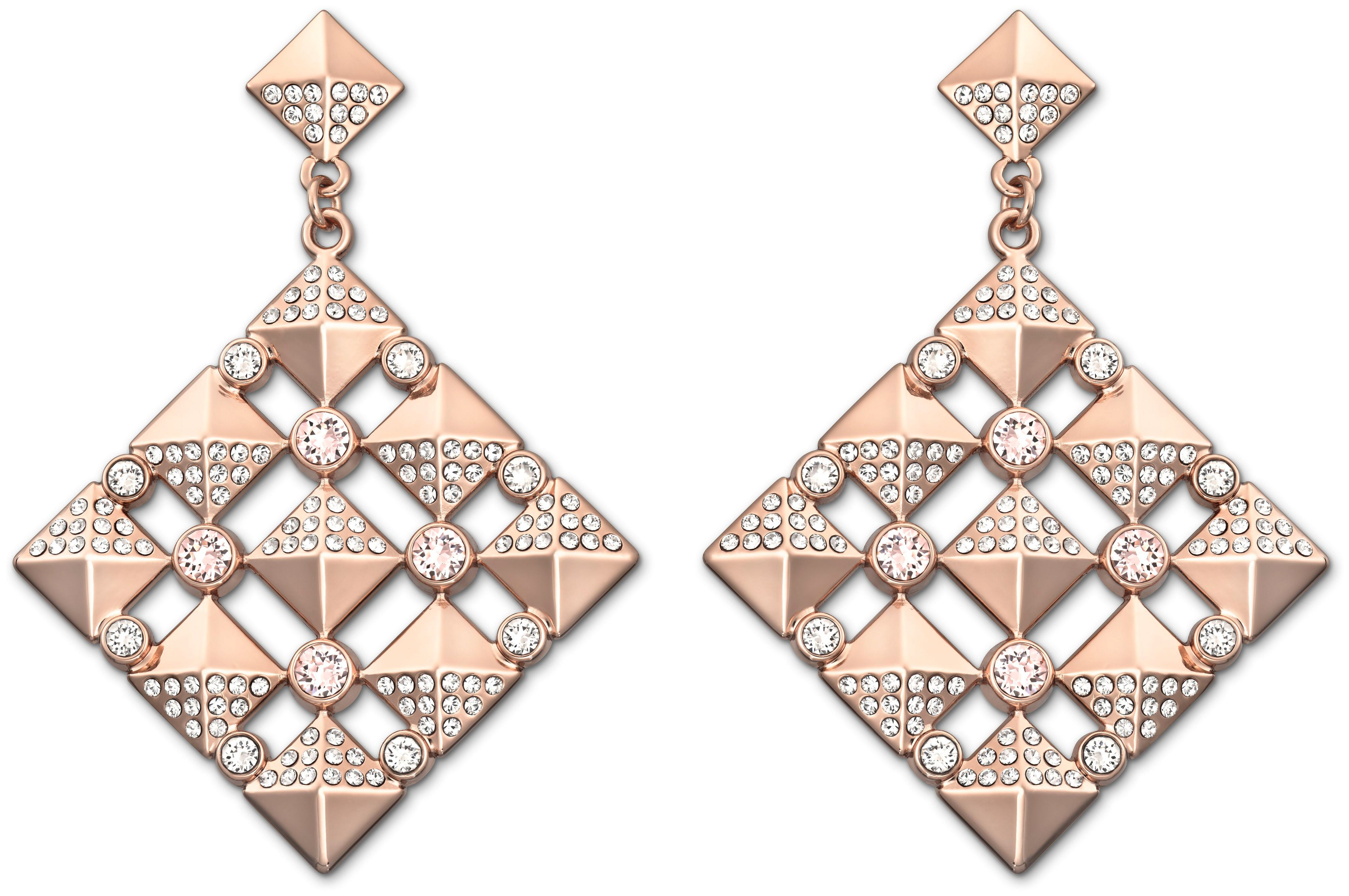 Stud chandelier earrings
