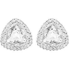 Swarovski Begin stud pierced earrings