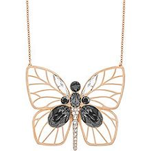 Bloom large butterfly pendant