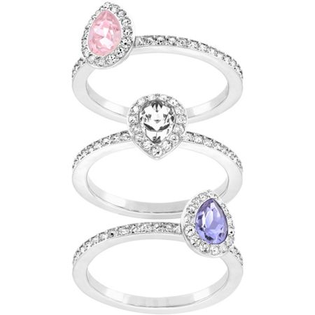 Swarovski Christie ring set