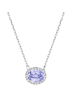 Christie frontal oval necklace