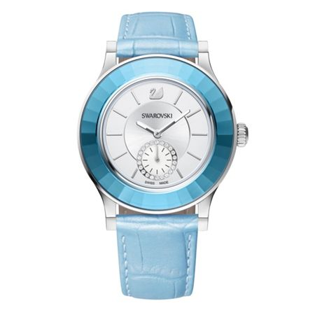 Swarovski Octea Classica Light Blue Watch