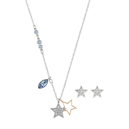 Swarovski Duo Star Set