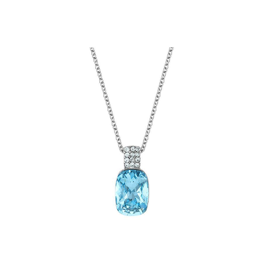 Lola & Grace Long crystal solitaire pendant necklace