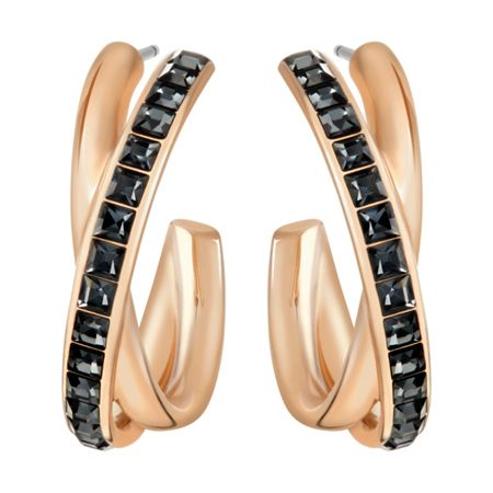 Swarovski Dynamic Hoop Pierced Earrings
